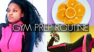 Quick Morning Gym Prep Routine 2019 + How I Care For My Natural Hair While Working Out
