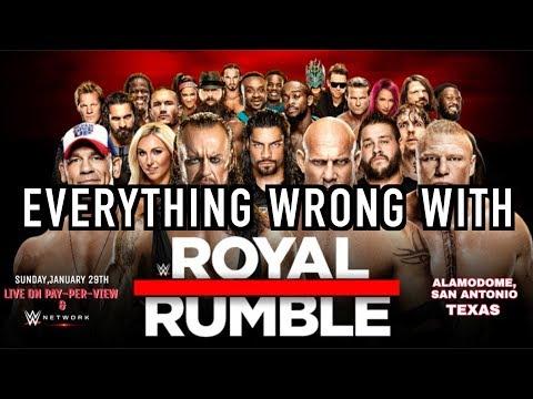 Episode #218: Everything Wrong With WWE Royal Rumble 2017 WWE SINS RETURN!!