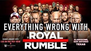 Episode #218: Everything Wrong With WWE Royal Rumble 2017 (WWE SINS RETURN!!)