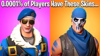 TOP 10 RAREST SKINS COMING TO FORTNITE BATTLE ROYALE