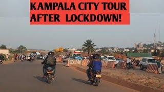 How Kampala City Looks Like After The Lockdown// Evening Drive Plus New Developments!