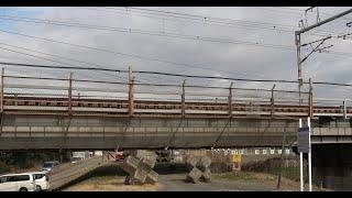 日本で最も近くで見れる 東海道新幹線 相模川橋梁