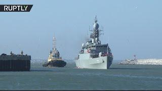 Боевые корабли Ирана вошли в порт Махачкалы в рамках неофициального визита