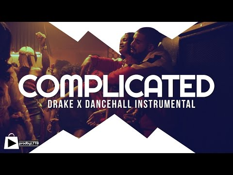 Drake x Rihanna type beat 2016  Dancehall Riddim Instrumental  COMPLICATED