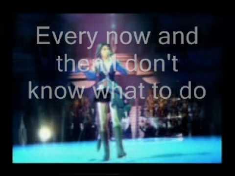 Real Emotion with lyrics on screen