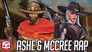 "ASHE AND MCCREE RAP by JT Music - ""The Deadlocks"""