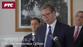 Vučić: Bilateralni sporazum sa SAD, izuzetno sam zadovoljan