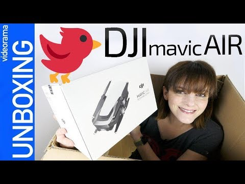 DJI Mavic Air unboxing -el SUPER drone de bolsillo- 🚁💸