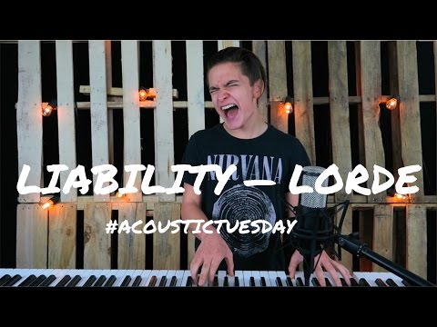 Liability - Lorde (Acoustic Cover by Ian Grey)