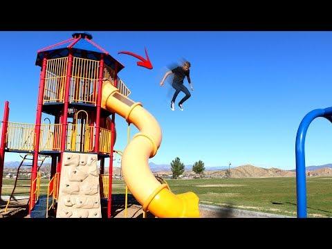 3 Story Playground PARKOURSE!! (Parkour Challenge)