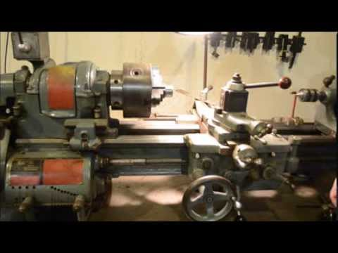 South Bend Lathe Used for Musical Instrument Repairs