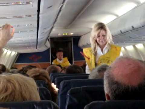 Southwest Airlines Flight Attendant Rap