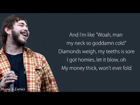 Post Malone Feat. Ty Dolla $ign - Psycho (Lyrics / Lyric Video)