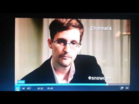 Edward Snowden's Christmas Message to the World - 2013