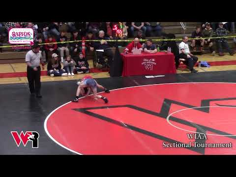 WIAA Wrestling Sectional Final At Wisconsin Rapids |02-22-2020