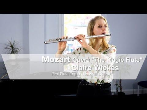 Mozart's Magic Flute Opera flute solos