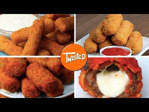 Delicious Mozzarella Sticks 9 Ways