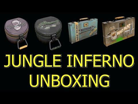 TF2: Unboxing 12 Abominable, Unleash Beast, Infernal Reward, Jungle Jackpot Cases ►Team Fortress 2◄
