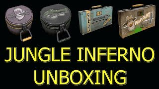 TF2: Unboxing 12 Abominable, Unleash Beast, Infernal Reward, Jungle Jackpot Cases >Team Fortress 2<