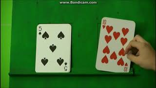 Card Sharks Money Cards Big Win Montage No Busted