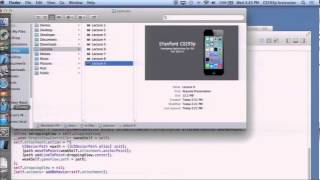 Stanford University Developing iOS 7 Apps: Lecture 9 - Animation and Autolayout