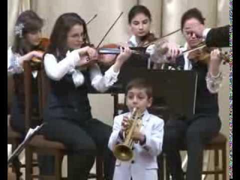 Tchaikovsky 'Neapolitan Dance' from Swan Lake, Arsen Safaryan with Artsakh Chamber Orchestra