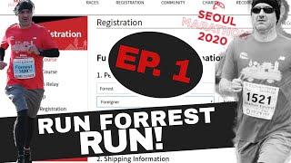 Episode 1 -  Registering for Seoul Marathon 2020