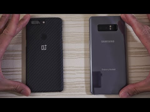 Download Youtube: OnePlus 5T vs Galaxy Note 8 - Speed Test! Budget or Flagship? (4K)