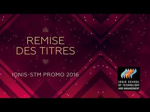 Remise des titres Ionis-STM promo 2016