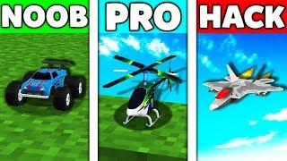 Minecraft Battle: NOOB vs PRO vs HACKER : CHILD TOYS REMOTE CONTROL Challenge in Minecraft Animation