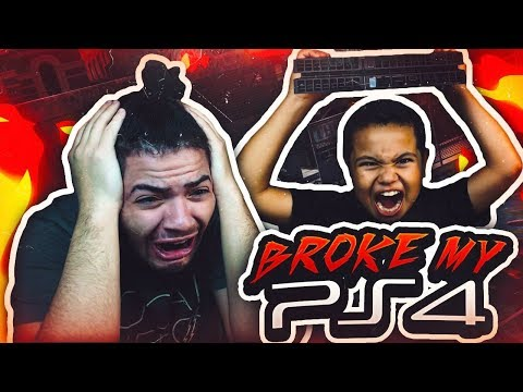 9 YEAR OLD BROTHER DESTROYS MINDOFREZ PS4!! PRANK GONE WRONG - SO MUCH RAGING IN ONE VIDEO OMG! 😡
