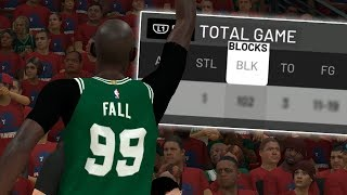 NBA 2K20 Tacko Fall My Career - Block Party!