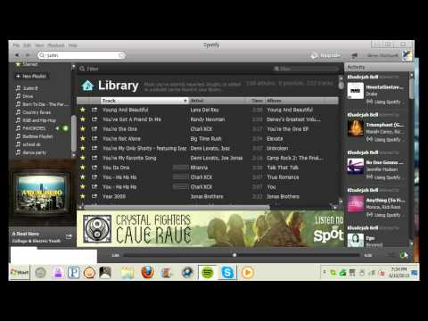 how-to-use-spotify-(-desktop-download)
