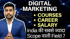 Digital Marketing for Beginners | Career | Courses | Salary | Online Marketing  [HINDI] 2018