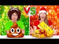 TANTANGAN HADIAH NATAL ANAK NAKAL VS BAIK || Hadiah Murah VS Mahal Oleh 123 GO! CHALLENGE