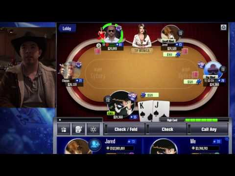 How To Win Sydney Tournament - WSOP App Game : A Cowboy Down Unda'