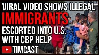 Video Shows CBP Escort Illegal Immigrants Through Border, Democrat Policies Lead TO COVID Lockdown