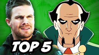 Arrow Season 3 Episode 16 and Lazarus Pit Explained
