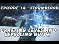 FFXIV Gil Making Guide EP14 - Stormblood 60+ Crafting and a look at the new leves