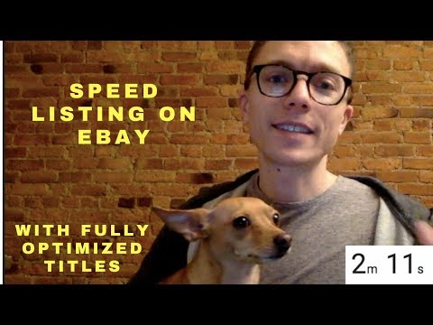 Speed Listing on eBay with Fully Optimized Titles Using DSM Tool!