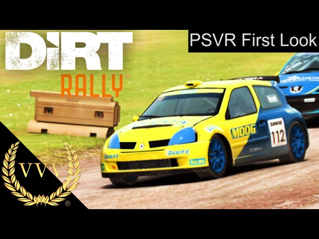 DiRT Rally PSVR First Look & Early Impressions