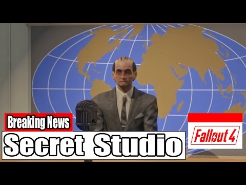 Fallout 4: Secret Prewar TV Studio!