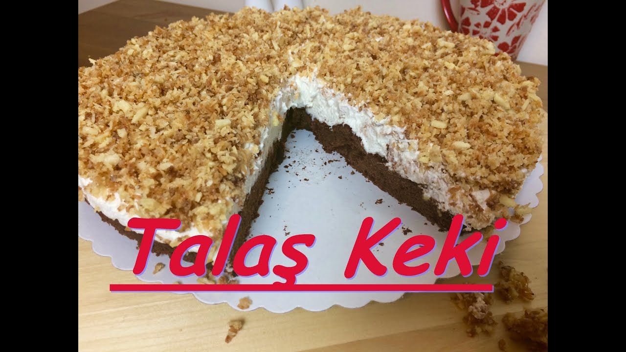 Alman usulü bademli pasta tarifi