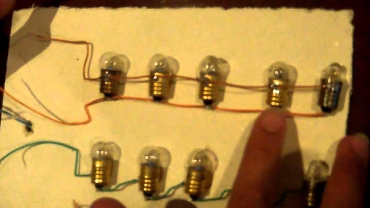 Circuito Electrico Simple Como Hacerlo : Como es un circuito en serie y paralelo facil hacer youtube