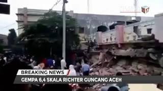 Kronologi Gempa Bumi Di Pidie Jaya, Aceh