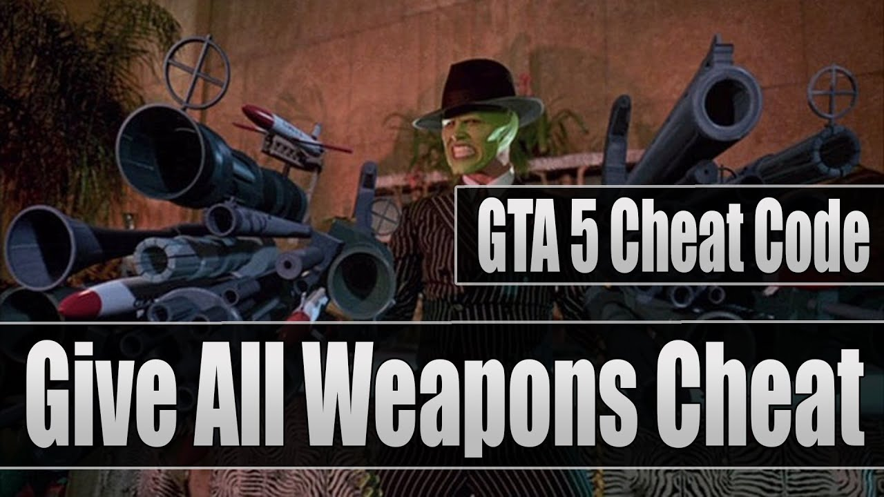GTA 5 Cheat Code: Give All Weapons/Guns Cheat Code For (Xbox 360 & PS3 ...