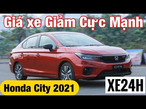Giá xe Honda City 2021 Giảm Cực Mạnh. Tổng lăn bánh tháng 6