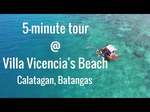 quick tour to Villa Vicencia's Beach, Calatagan Batangas by