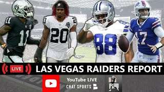 Raiders Rumors, NFL News, Damon Arnette, Henry Ruggs, Bryan Edwards, Dez Bryant, Week 4 vs. Bills