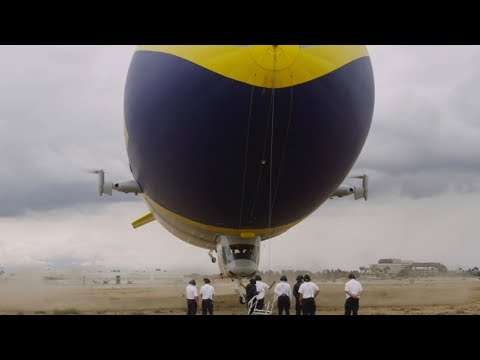 There's A New Goodyear Blimp, But Is It A Blimp? | Los Angeles Times